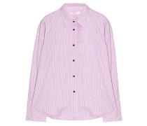 Bluse Slate Ruffle Pink Navy Streifen