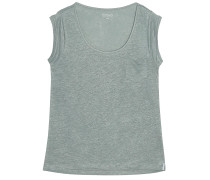 Leinen Shirt Pure Oliv