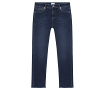 Jeans Claire Cropped Blue