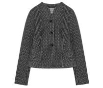 Tweed Blazer Grau Schwarz