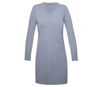 Cashmere Kleid V-Ausschnitt