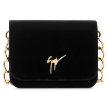 240x220 mm black velvet cluth with signature logo LISA