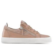 Pink velvet low-top sneaker NICKI