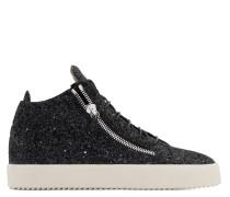 KRISS GLITTER Mid Top Sneakers
