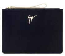 350x250 mm blue velvet pouch MARCEL