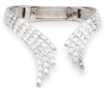 Baguette crystal brass necklace VERA