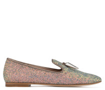 Multicolour glitter loafer SPACEY
