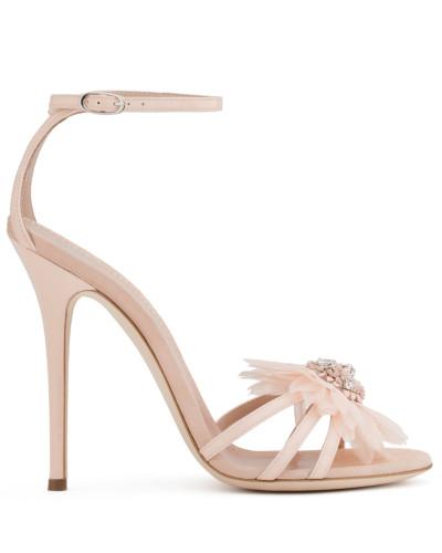 Giuseppe Zanotti Damen Pink patent leather sandal with bow ANNEMARIE Billig Verkauf Manchester Spielraum Top-Qualität  Um Online Kaufen Freiraum 100% Authentisch Spielraum Online Offizielle Seite YUhIsG