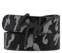 Camouflage fabric with rubber finishing belt GIUSEPPE