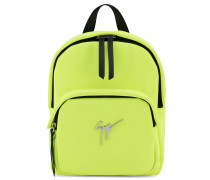 Yellow fabric backpack CECIL SIGNATURE