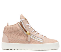 Python-printed mid-top sneaker KRISS