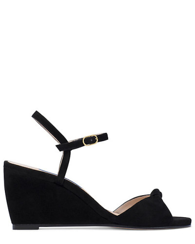 Die Gloria Wedge-Sandale - Black