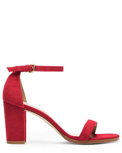 Die Nearlynude Sandale - Red