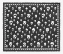 Klassischer Pashmina aus Modal mit Skulls