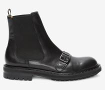 Chelsea Boots mit Schnalle