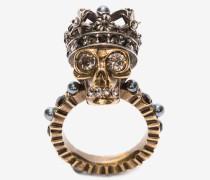 Ring mit King Skull