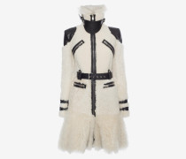 Bikermantel aus Shearling
