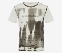T-Shirt mit Röntgenprint