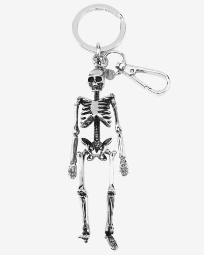 Schlüsselring mit Skelett