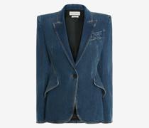 Tailoring-Jacke aus Denim