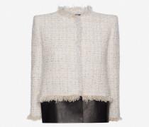Box Jacke aus weichem Tweed