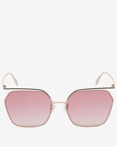 Eckige Sonnenbrille The Cut
