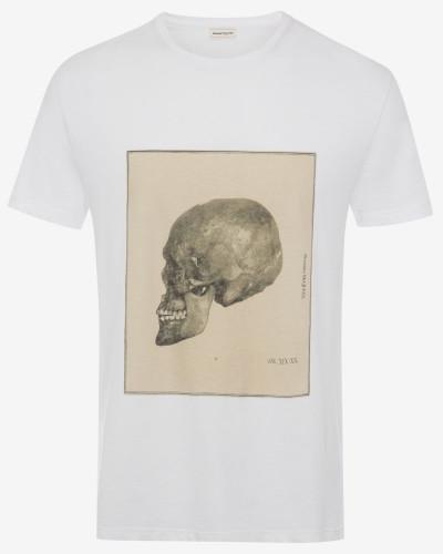 T-Shirt mit Skull-Studie