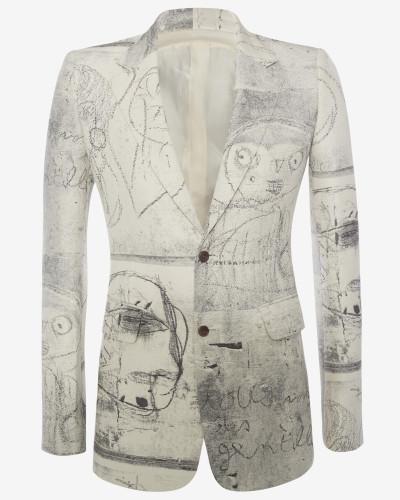 Couture-Jacke aus Jacquard John Deakin