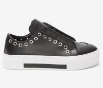 Niedrig geschnittene Schnür-Sneakers