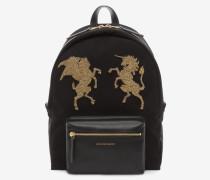 Rucksack mit aufgesticktem Bullion-Detail