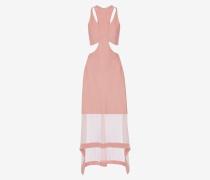 Zusammengesetztes Kleid aus Rippstrick