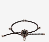 Armband aus Nappaleder mit Schmuckanhänger