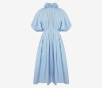 Midi-Blusenkleid mit Kokonärmeln