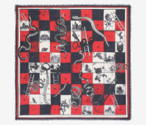 "Foulard ""Snake and Ladders"""
