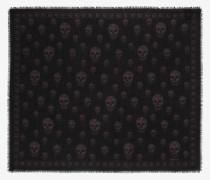 Klassischer Pashmina-Schal mit Skull