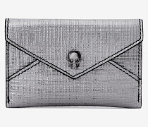 Skull-Kartenetui in Kuvert-Optik