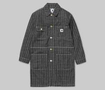 W' Heart Long Chore Coat / Mantel