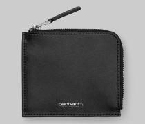 Leather Half Zip Wallet / Geldbeutel
