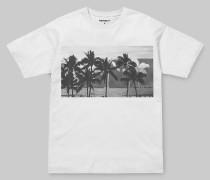 W' S/S Carrie Palmtree Pocket T-Shirt / T-Shirt