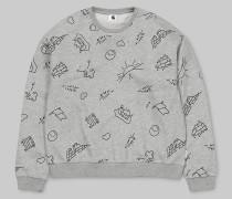 W' Kala Scribble Sweatshirt / Sweatshirt