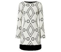 Fake Fur Kleid Vafolly Weiß
