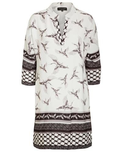 Asia Tunika Kleid Meily White