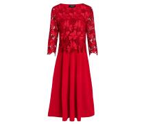 Spitzen-Mix Kleid Wapiura
