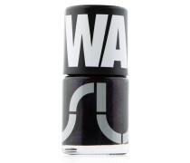 WGY Nagellack und Sticker Sparkle Purplish Black