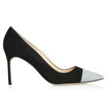 Bipunta High Heels Grey Black Suede
