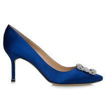 Hangisi 70 Pumps Royal Blue Satin CLC