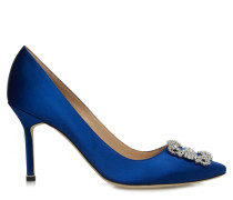 Hangisi 90 High Heels CLC Royal Blue Satin