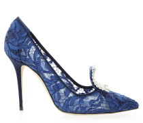 Borlak 105 Pumps Lace Blue CLC