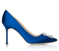 Hangisi 90 High Heels Royal Blue Satin CLC