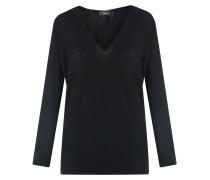 Adrianna Kaschmir V-Neck Pullover Black